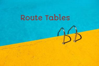 AWS Route Tables