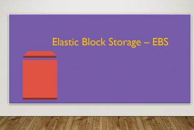 Elastic Block Storage - EBS